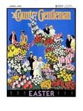 """Easter Flowers,"" Country Gentleman Cover, April 1, 1932 Giclee Print by Kraske"
