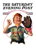 &quot;Pop-Up Fly,&quot; Saturday Evening Post Cover, September 7, 1929 Giclee Print by Harrison Mccreary