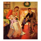 &quot;Baby&#39;s First Christmas,&quot;December 1, 1929 Giclee Print by Haddon Sundblom