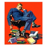 &quot;Motivated to Sleep,&quot;May 7, 1938 Giclee Print by John Sheridan