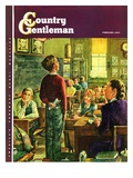 """""""Oral Report,"""" Country Gentleman Cover, February 1, 1947 Giclee Print by W.C. Griffith"""