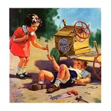 """Safety First,""June 1, 1937 Giclee Print by Henry Hintermeister"