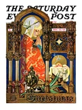"""Madonna and Child,"" Saturday Evening Post Cover, December 22, 1928 Giclee Print by Joseph Christian Leyendecker"