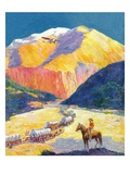"""Westward Ho!,""March 1, 1931 Giclee Print by Frederick Anderson"