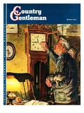 """Father and Time,"" Country Gentleman Cover, March 1, 1946 Giclee Print by W.C. Griffith"