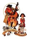 """God Rest Ye Merrie Gentlemen,""December 24, 1932 Giclee Print by Joseph Christian Leyendecker"
