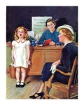 """In Front of the The Class,""April 30, 1938 Giclee Print by Frances Tipton Hunter"