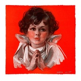 """Little Angel,""December 19, 1925 Giclee Print by Neil Hott"