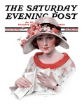 &quot;Love Letter,&quot; Saturday Evening Post Cover, July 18, 1925 Giclee Print by J. Knowles Hare