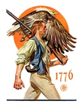 """Minute Man,""June 29, 1929 Giclee Print by Joseph Christian Leyendecker"