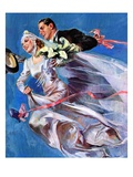 &quot;Wedding Day,&quot;June 24, 1939 Giclee Print by John LaGatta