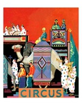 """Circus Parade,""May 1, 1931 Giclee Print by Kraske"