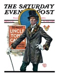 """Uncle Tom's Cabin,"" Saturday Evening Post Cover, March 26, 1927 Reproduction procédé giclée par Edgar Franklin Wittmack"