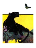 """Black Panther,""August 13, 1932 Giclee Print by Lynn Bogue Hunt"