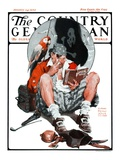 """Pirate's Love Story,"" Country Gentleman Cover, January 24, 1925 Giclee Print by William Meade Prince"