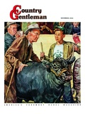 """Cattle Judging,"" Country Gentleman Cover, November 1, 1946 Giclee Print by W.C. Griffith"