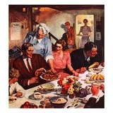 """Second Helping,""September 1, 1947 Giclee Print by Lealand Gustavson"