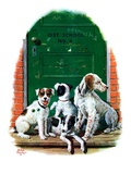 """Faithful Friends,""September 14, 1929 Giclee Print by Alan Foster"