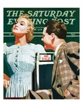 """'No Sale',"" Saturday Evening Post Cover, May 6, 1939 Giclee Print by John Hyde Phillips"