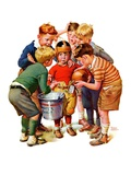 """You Can Be the Water Boy!,""November 27, 1937 Giclee Print by Frances Tipton Hunter"