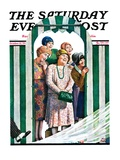 """There Goes the Bride,"" Saturday Evening Post Cover, October 12, 1929 Giclee Print by Alan Foster"