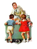 """Penny Candy,""August 19, 1939 Giclee Print by Frances Tipton Hunter"