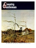 """Autumn Cornfield,"" Country Gentleman Cover, October 1, 1950 Giclee Print by Andrew Wyeth"