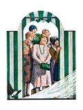 """There Goes the Bride,""October 12, 1929 Giclee Print by Alan Foster"