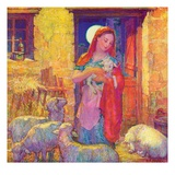 """Sheep in Jerusalem,""December 1, 1941 Giclee Print by Henry Soulen"