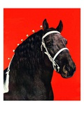 """Prize Draft Horse,""September 1, 1944 Giclee Print by Salvadore Pinto"