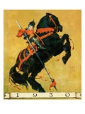 &quot;Sir 1930,&quot;January 1, 1930 Giclee Print by William Meade Prince