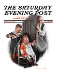 &quot;Bald Baby,&quot; Saturday Evening Post Cover, June 20, 1925 Giclee Print by Harry C. Edwards
