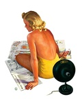 """Sunlamp,""March 4, 1939 Giclee Print by Robert P. Archer"