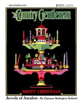 """Christmas Candelabra,"" Country Gentleman Cover, December 1, 1932 Giclee Print by Edward O. Kraske"