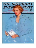 """College Requirements,"" Saturday Evening Post Cover, September 23, 1933 Giclee Print by Penrhyn Stanlaws"