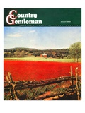 """Photographic Landscape,"" Country Gentleman Cover, August 1, 1945 Giclee Print by R.A. Mawhinney"