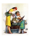 """Bus Fare,""September 9, 1939 Giclee Print by McCauley Conner"