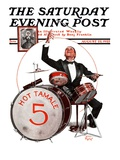 """Hot Tamale Five,"" Saturday Evening Post Cover, August 22, 1925 Giclee Print by Alan Foster"