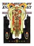 """""""Easter, 1928,"""" Saturday Evening Post Cover, April 7, 1928 Giclee Print by J.C. Leyendecker"""