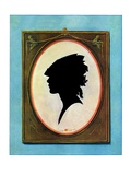 """A Silhouette,""May 11, 1929 Giclee Print by Penrhyn Stanlaws"