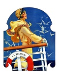 """S. S. Vacation,""July 20, 1929 Giclee Print by Elbert Mcgran Jackson"