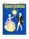 """The Minuet,"" Country Gentleman Cover, February 1, 1932 Giclee Print by W. P. Snyder"