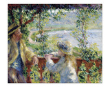 By the Water, ca. 1880 Giclee Print by Pierre-Auguste Renoir