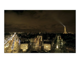 Paris Nights II Giclee Print by Sabri Irmak