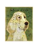 English Setter Giclee Print by John Golden