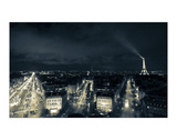 Paris Nights I Giclee Print by Sabri Irmak