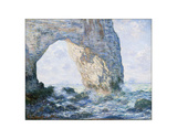 La Manneporte (Etretat), 1883 Giclee Print by Claude Monet