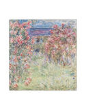 The House Among the Roses, between 1917 and 1919 Giclée-tryk af Claude Monet