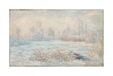 Le Givre, 1880 Giclee Print by Claude Monet