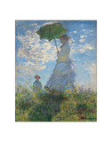 Woman with a Parasol, 1875 Reproduction procédé giclée par Claude Monet